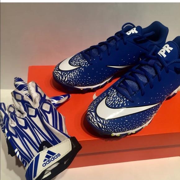 f1fa47fb725141 Nike Vapor Shark 2 BG Football Cleats Size 6 Youth